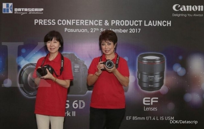 PT Datascrip luncurkan Canon EOS 6D Mark II