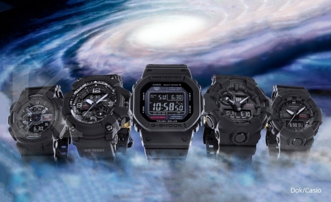 G-Shock seri Big Bang Black dilego Rp 2,3 jutaan