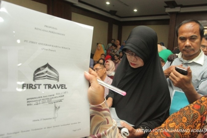 Jamaah First Travel bingung opsi surat utang