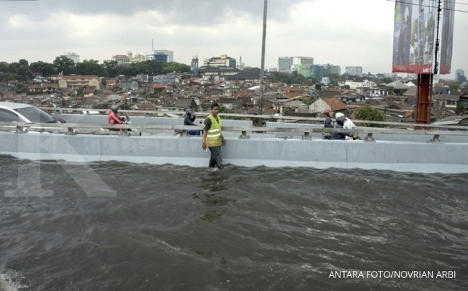 Riset: Akibat banjir, Indonesia merugi US$ 453 M