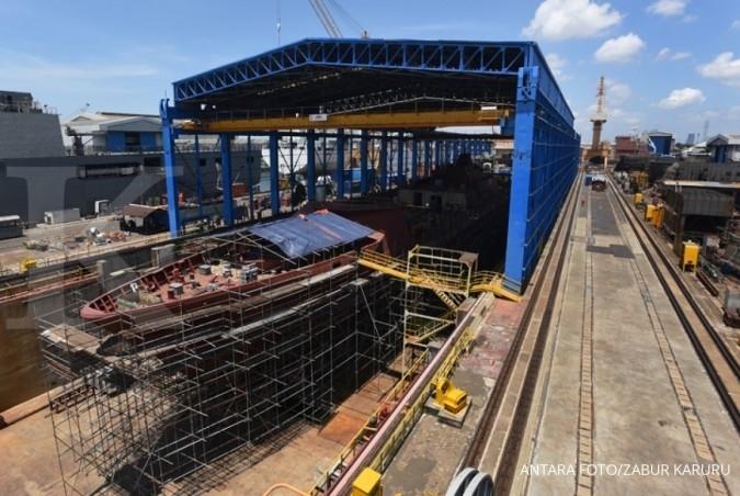 Kebutuhan galangan kapal harapan industri baja