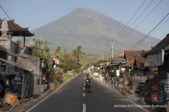 Gunung Agung, ITDC: Show must go on