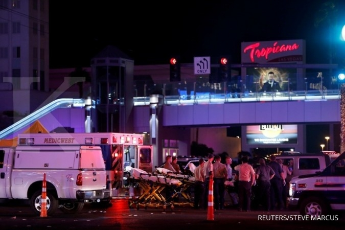 Korban tembakan membabi buta Las Vegas tembus 50