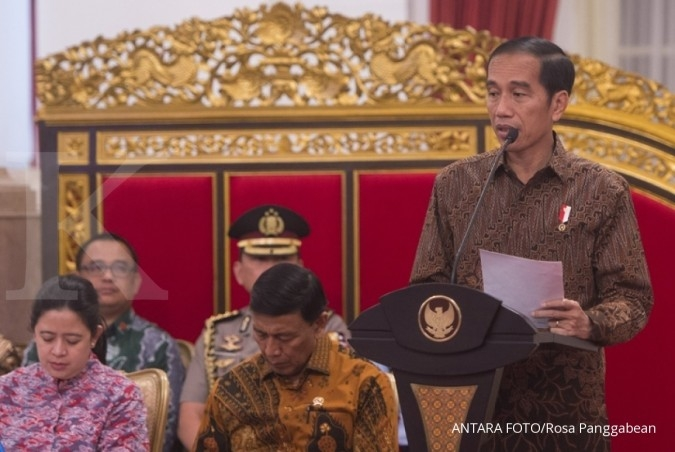 Jokowi: Jual dan merger BUMN