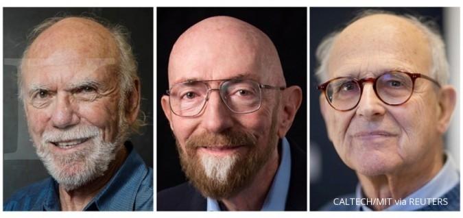 Tiga ilmuwan AS terima nobel fisika 2017