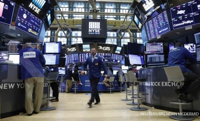 Bursa saham AS masih melaju di pertengahan pekan