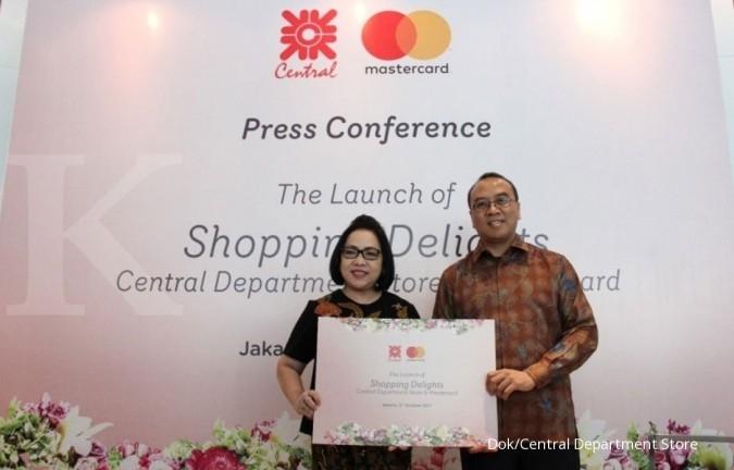 Central Dept Store lanjut gandeng Mastercard