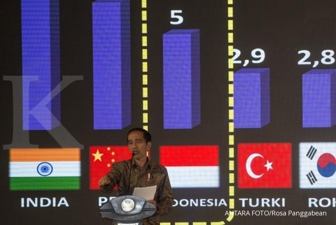 Kunci pertumbuhan ekonomi Indonesia versi Presiden