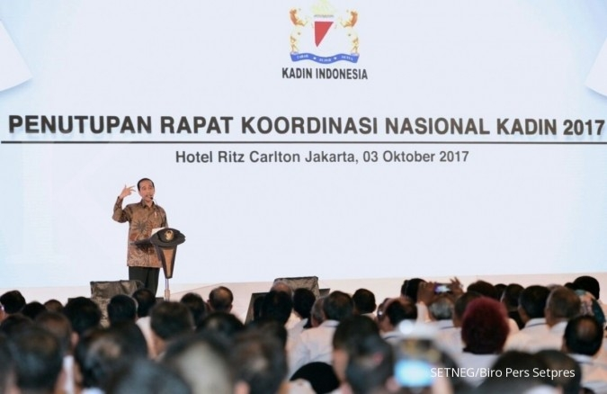 Ini daftar keluhan Kadin ke Jokowi selama 3,5 jam