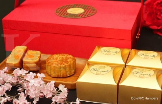 Panen pesanan kue bulan di mooncake festival
