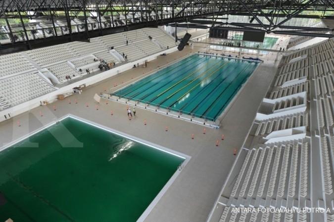 Stadion renang GBK siap menyambut Asian Games
