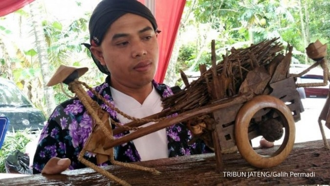 Sulap limbah pertanian jadi suvenir desa wisata