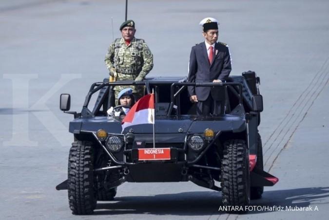 Jokowi minta TNI pegang teguh sumpah prajurit