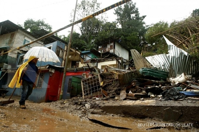 Badai Nate serang Costa Rica-Nicaragua-Honduras