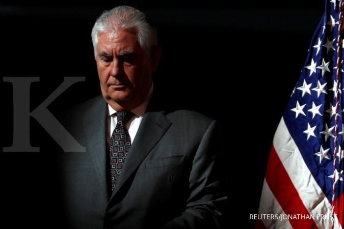 Menlu AS: Diplomasi hingga bom pertama dijatuhkan
