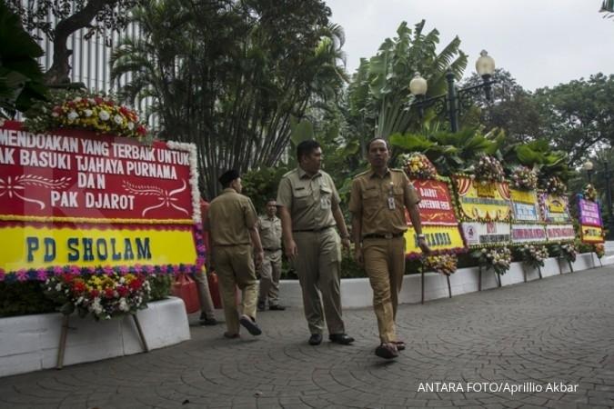 Djarot: Karangan bunga bentuk dukungan moral