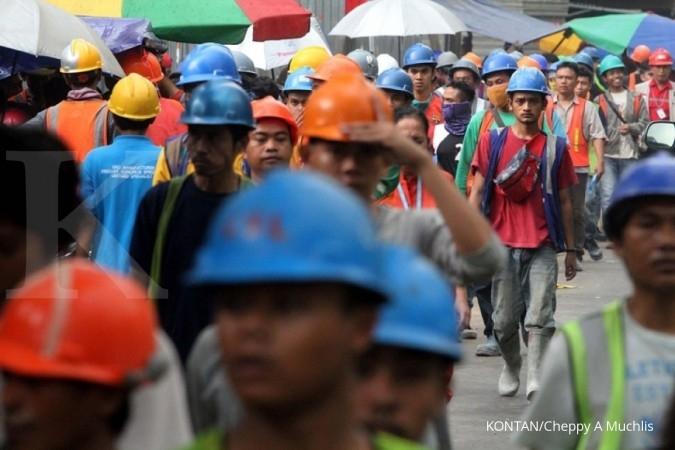 Pekerja konstruksi tersertifikasi tak sampai 10%