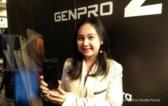 Genpro Z, ponsel dual kamera seharga Rp 2,2 juta