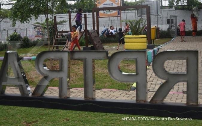 90% RPTRA di Jakarta sudah dibuka, alat permainan belum dapat digunakan