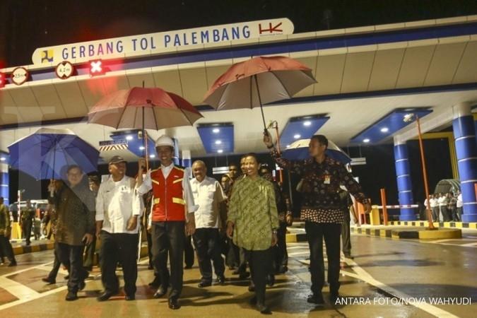Jokowi resmikan jalan tol pertama di Sumsel