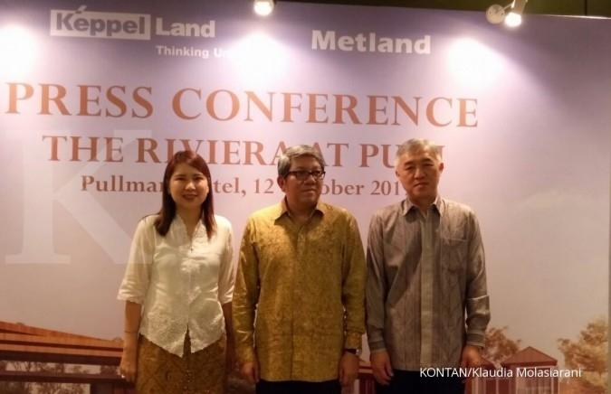 Keppel Land dan Metland garap proyek hunian