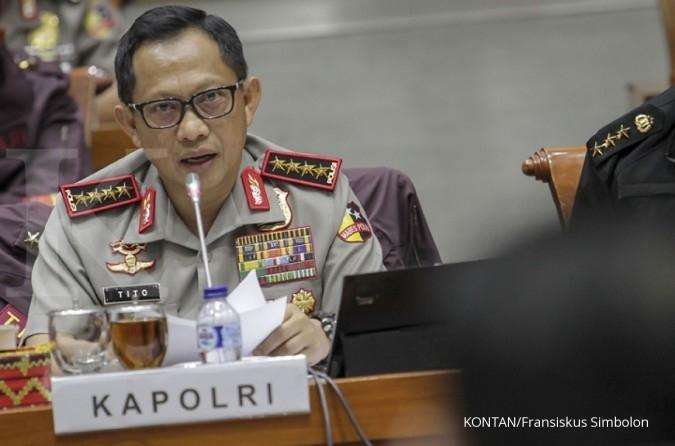 Klarifikasi Kapolri: Pensiunan polisi yang nyalon pilkada tak boleh kembali ke Polri