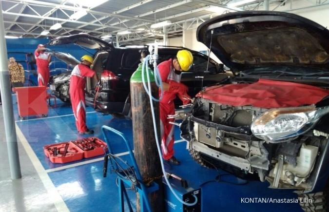 Fasilitas bodi & cat Mitsubishi hadir di Medan