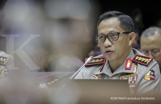 43 polisi dan 2 tentara mendapat penghargaan