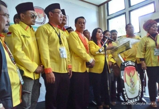 Partai Berkarya milik Tommy Soeharto daftar pemilu