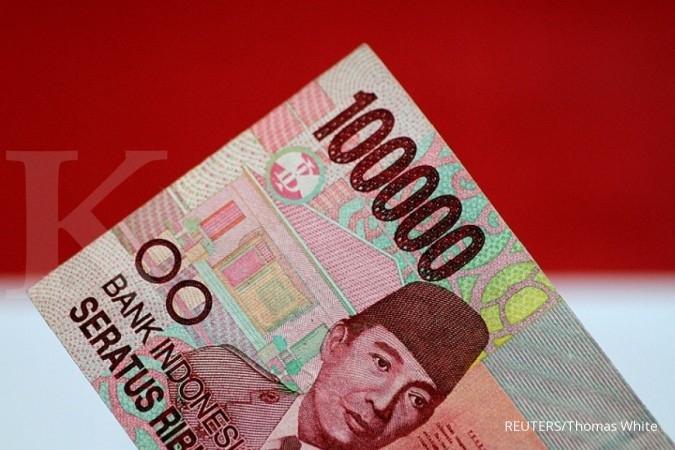 Rupiah terkunci di kisaran Rp 13.500