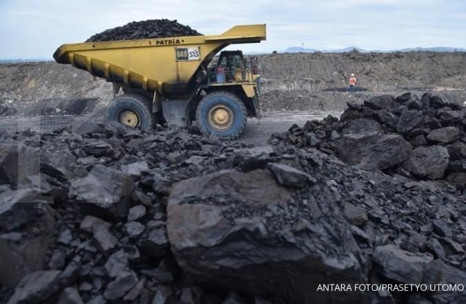 Koreksi batubara dipicu antisipasi pidato Fed