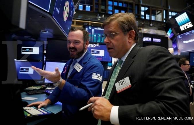 Bursa AS mencetak rekor tertinggi