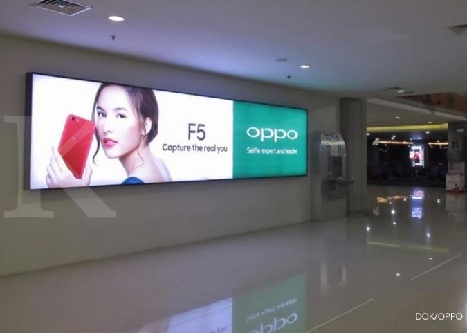 Chelsea Islan jadi ikon OPPO F5