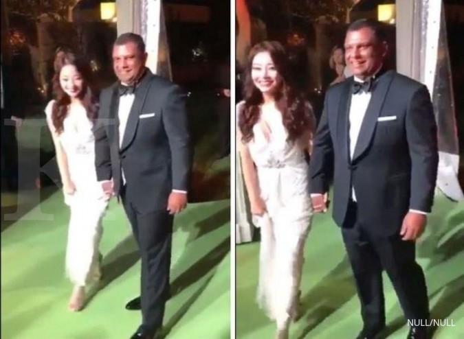 CEO AirAsia Tony Fernandes menikahi artis Korea