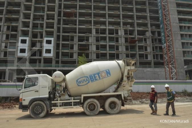 WTON Kontrak baru Wijaya Karya Beton (WTON) semester I didominasi proyek swasta