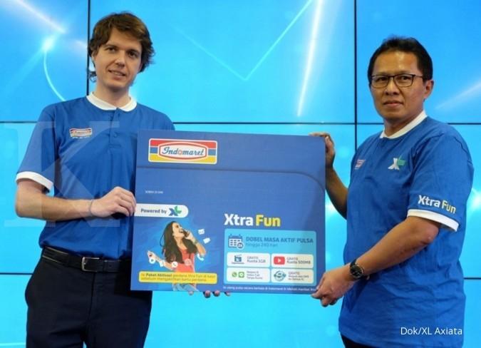 XL gandeng Indomaret jual kartu perdana Xtra Fun