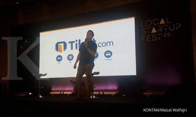 Tiket.com proyeksi pertumbuhan 100% di akhir tahun