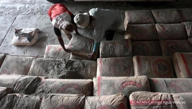 Hingga Oktober penjualan semen domestik naik 7%