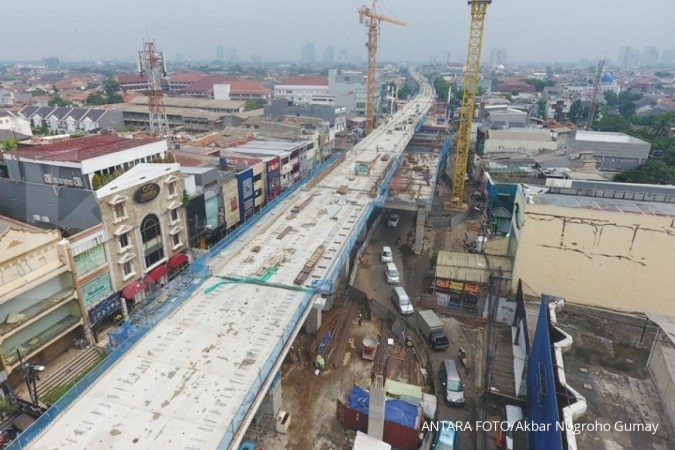 Pembebasan 26 bidang proyek MRT belum rampung