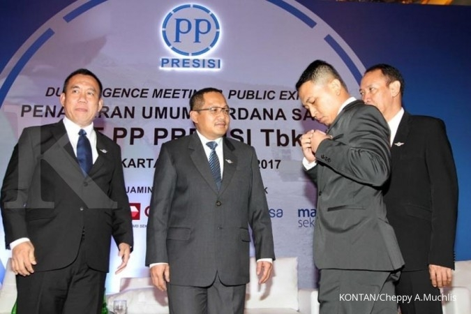 PTPP Usai IPO, PP Presisi siap ekspansi