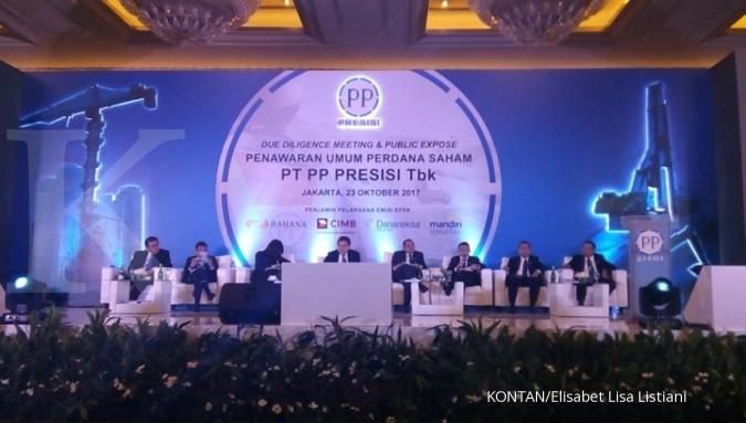 PTPP Strategi PP Presisi agar saham IPO laris