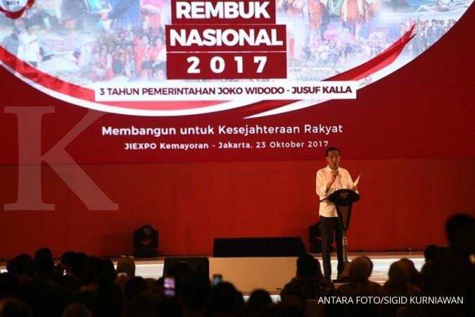 Sindir DPR, Jokowi minta UU jangan jadi proyek