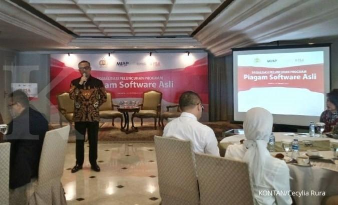 Piagam software asli diluncurkan di Indonesia