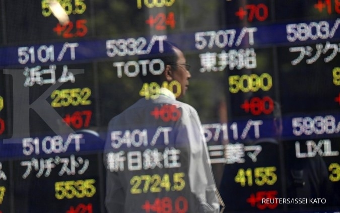 Bursa Asia cerah menunggu data inflasi China