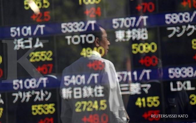 Bursa Asia melorot Selasa pagi