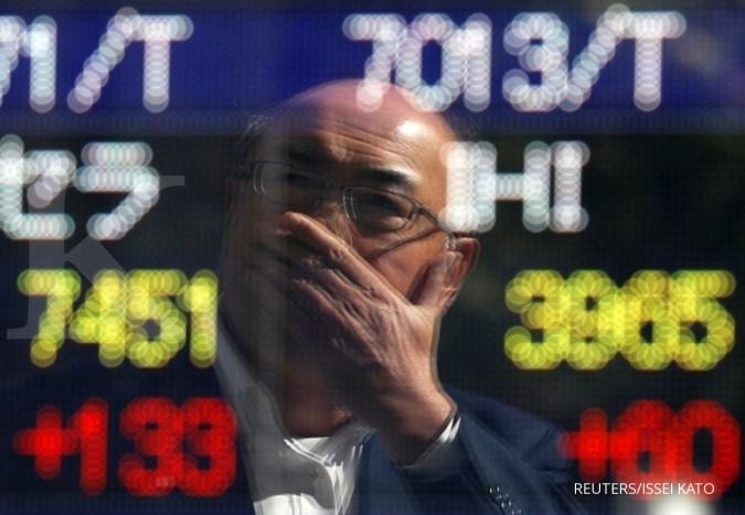 Bursa saham Asia bergerak mixed