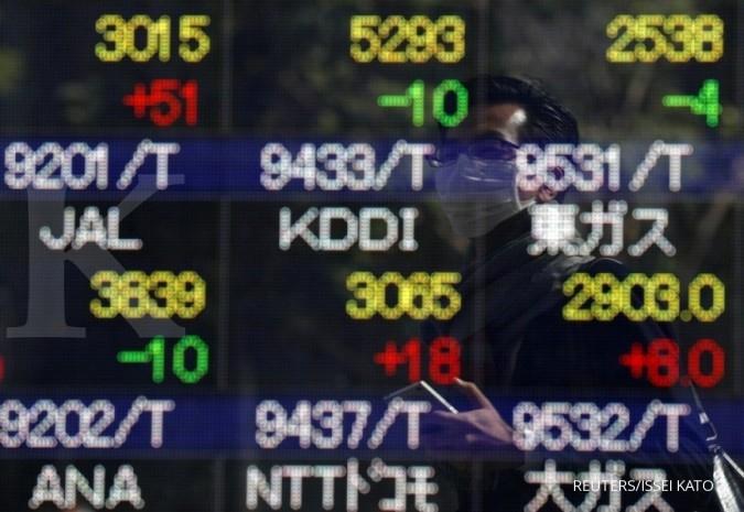 Bursa Asia tergelincir mengekor Wall Street