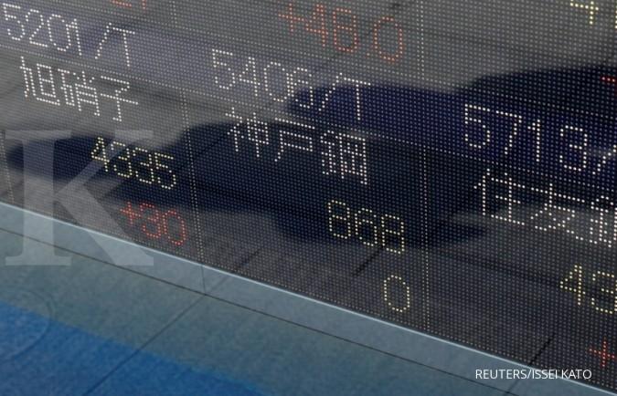Mayoritas bursa Asia bergerak lunglai