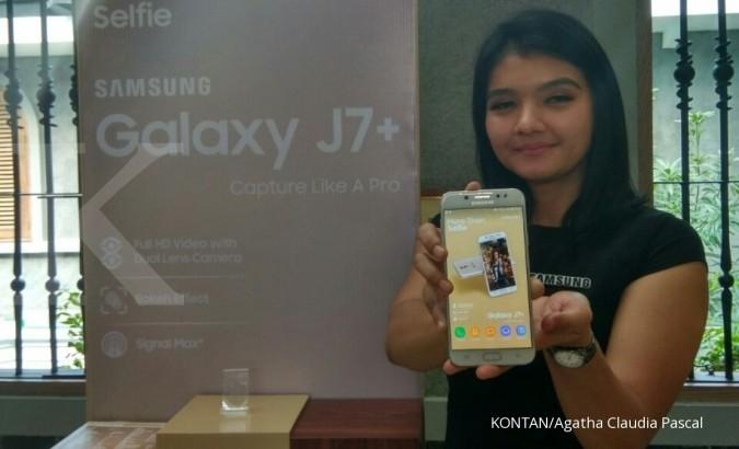 Samsung luncurkan Galaxy J7+ untuk milenial