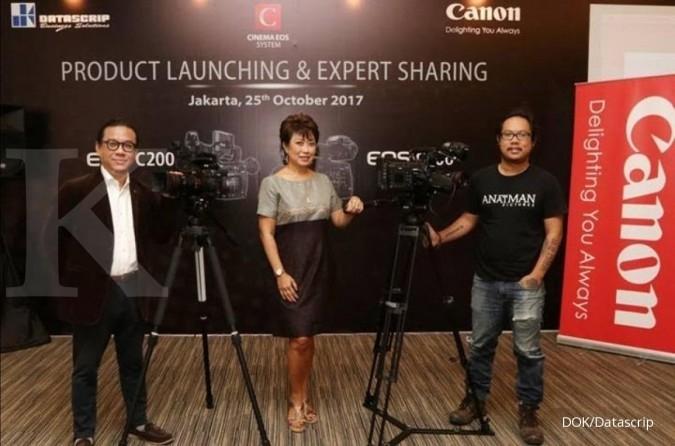 Canon luncurkan 2 kamera sinema EOS C200 dan C700